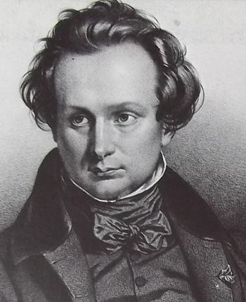 Portrait de Victor Hugo en 1827.