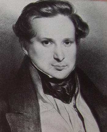 Portrait de Victor Hugo en 1829.