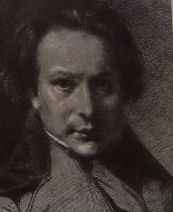 Portrait de Victor Hugo en 1837.