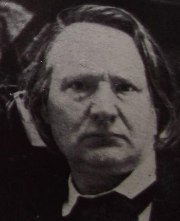 Portrait de Victor Hugo en 1853 - Photographie.