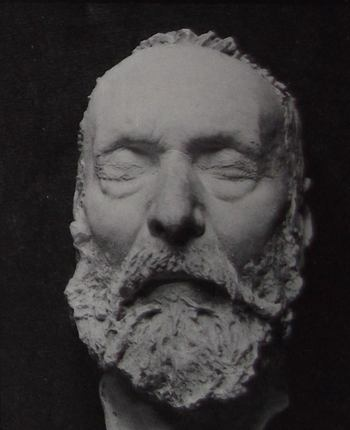 Masque mortuaire de Victor Hugo.