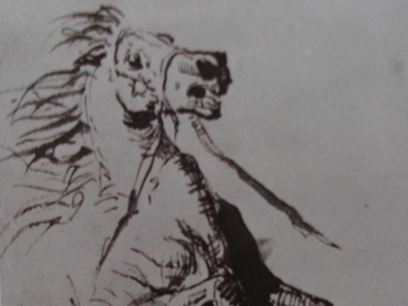 dessin cheval victor hugo