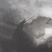 Ce détail d'un dessin de Victor Hugo représente la Terre perdue dans l'univers, entre l'ombre et la lumière, et qui permet au poète de poser la question : À qui donc sommes-nous ?