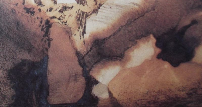 Ce détail d'un dessin de Victor Hugo représente un pont au-dessus de l'abîme, dont les arches dessinent comme le Cri, de Munch.