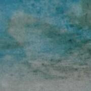 Ce détail d'un dessin de Victor Hugo représente une éclaircie dans le ciel.