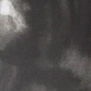 Ce détail d'un dessin de Victor Hugo représente un astre sortant de l'ombre d'où il est issu, et y retournant.